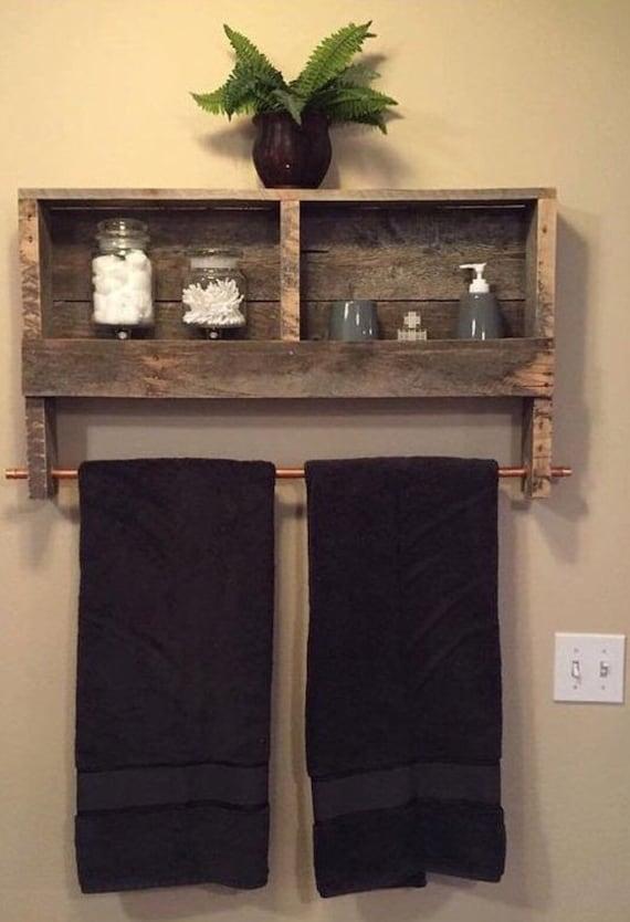 Bathroom Cabinet W Towel Rack, Bathroom Cabinet With Towel Rack