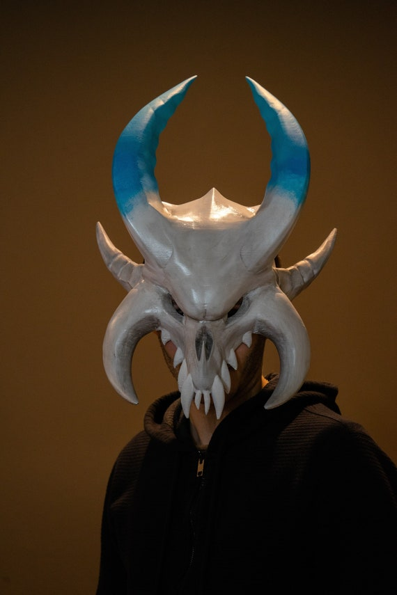Ragnarok Mask From Fortnite Cosplay Version 3d Printed Etsy