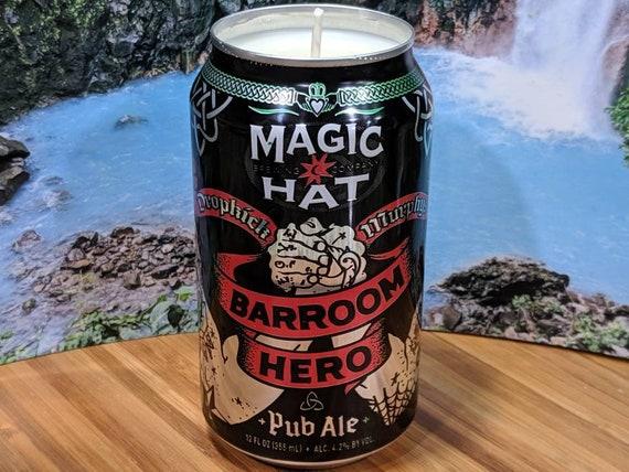 Custom Scent Magic Hat Barroom Hero Beer Can Candle