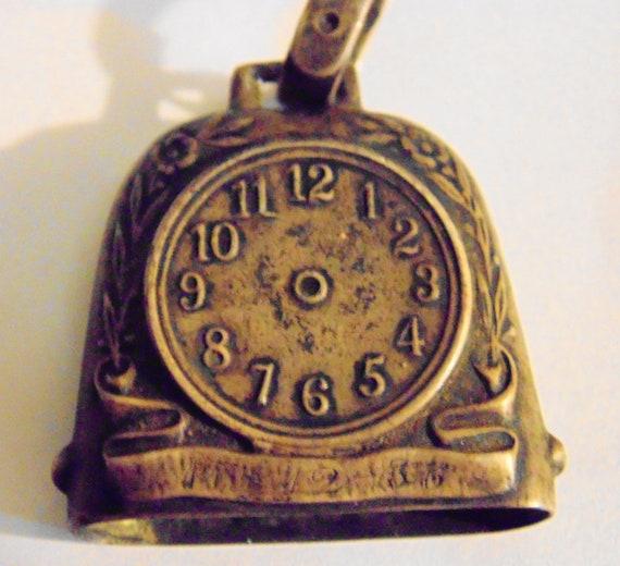 18th century clock bell pendant
