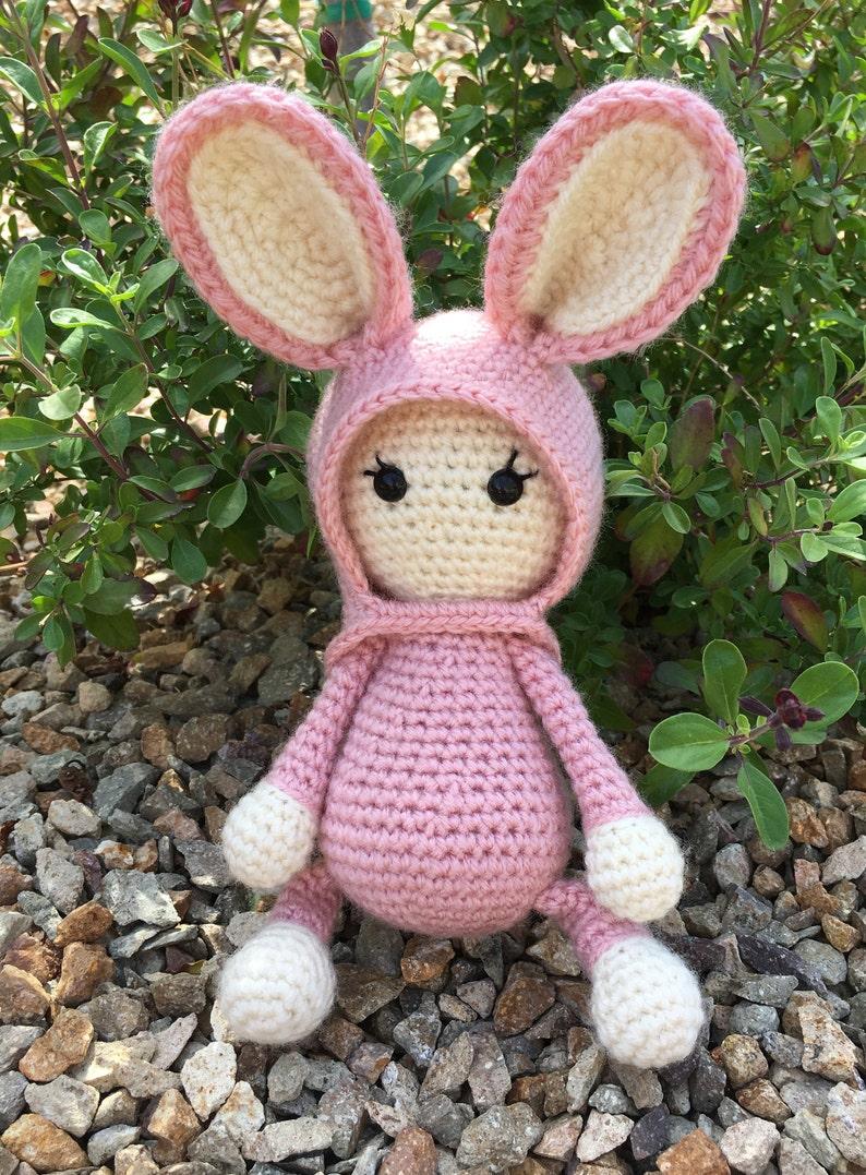 easter Amigurumi Bunny crochet bunny download Bunny Crochet Pattern Crochet Stuffed Animal doll PDF Pattern