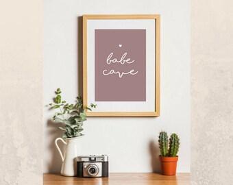 Bave cave | Printable artwork