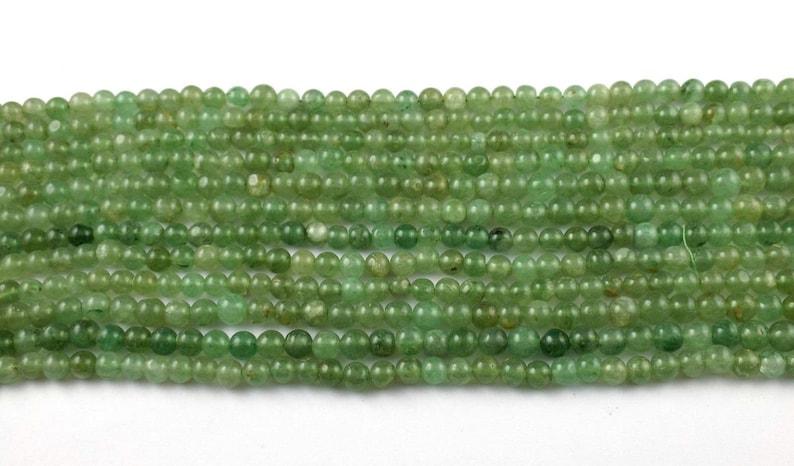 5 Strand Natural Aventurine Gemstone Rondelle 6-7mm 13 Long Smooth Jewelry Bead AventurineSmooth BeadsGemstone BeadJewelry Making Bead.