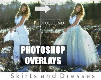 Photoshop Overlays SKIRT DRESSES