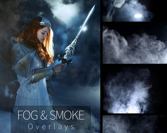 Fog & Smoke Photoshop Overlays