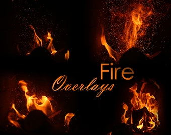 Fire Photoshop Overlays