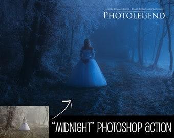 "Photolegend's ""Midnight"" Photoshop Action"