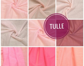64b6816df5 Pink Blush Tulle fabric - Wedding Tulle - Wholesale Tulle By The Yard -  Tulle Roll - Supplies - Bridal Tulle - 3m width Soft Tulle, Peach