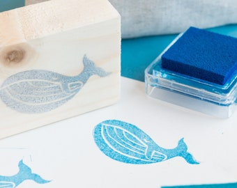 rubber whale stamp