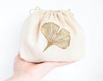 Custom cotton stamp bag with print