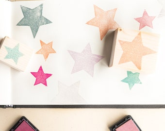 set star rubber stamps