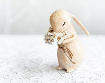 Coniglietti decorativi in cotone filato