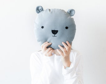 bear pillow for bedrooms