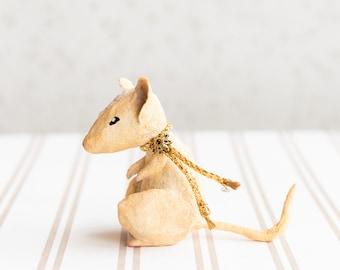 Decorazione topo in miniatura