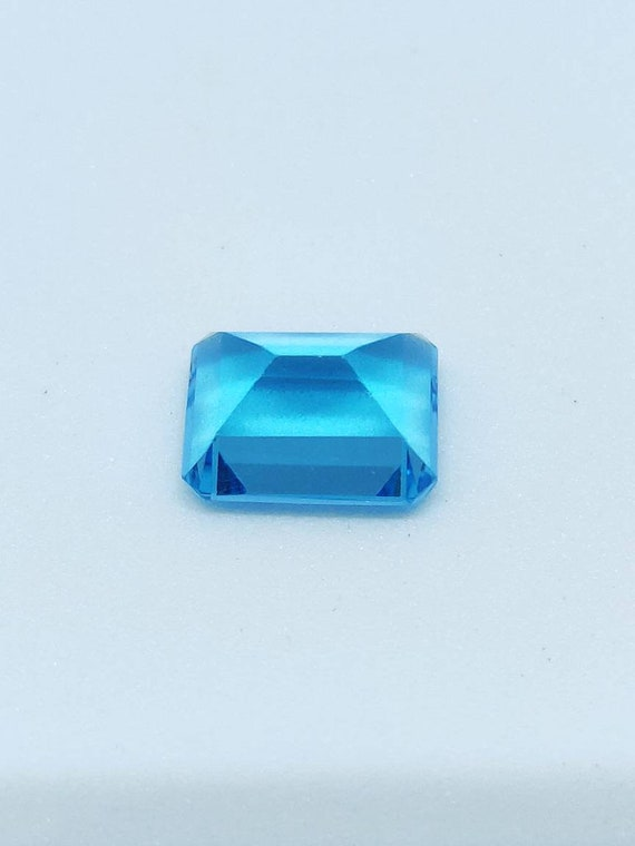 Swiss Blue Topaz Beautiful Step Cut Octagon Shape 9x7mm 3 15cts AAA Quality  in Good Price