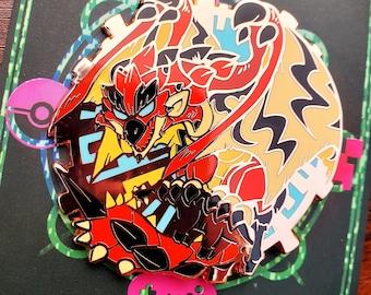 Rathalos Monster Hunter Wyvern Enamel Pin