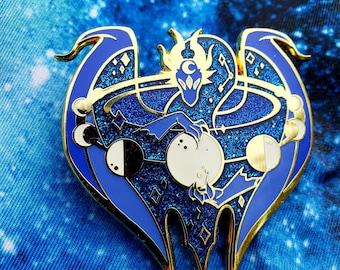 Moon/Lunar Eclipse Dragon Enamel Pin