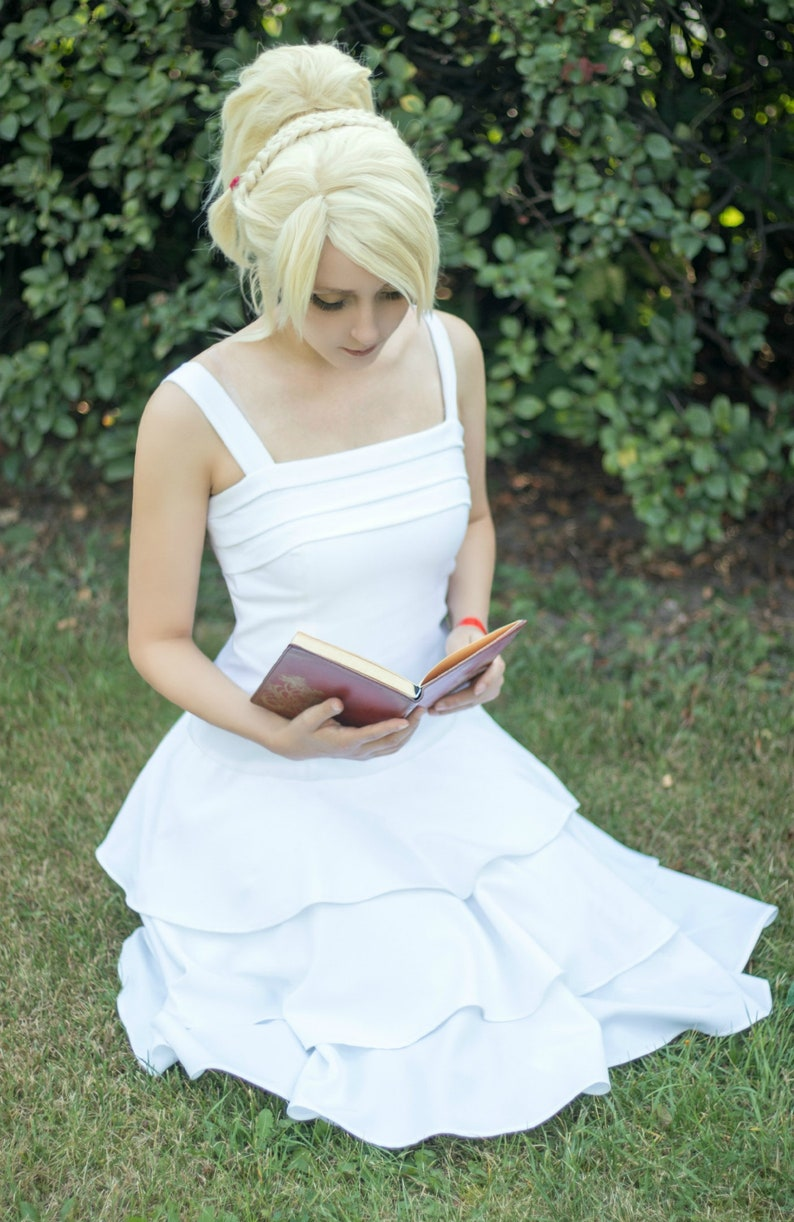 Lunafreya Nox Fleuret Final Fantasy XV childhood dress cosplay in stock