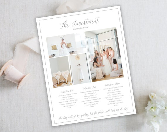 Wedding Photography Pricing.Photography Pricing Template Wedding Photography Template Pricing Guide For Photographers Wedding Photographer Instant Download