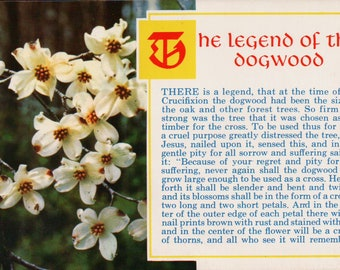 photograph about Legend of the Dogwood Tree Printable named Legend of dogwood Etsy