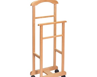 Wooden Garment Rack for Kids Clothing. Mini Children's Clothing Rack. Wooden Garment Frame for Kids. Wooden Kids Clothes Valet.