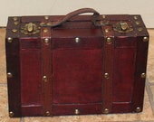 Antique Style Suitcase for Home Decor