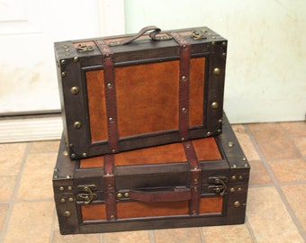 Old Fashioned Suitcase for Home Decor