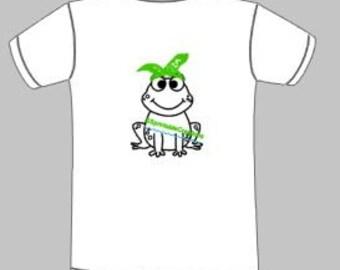 froggie with bandana