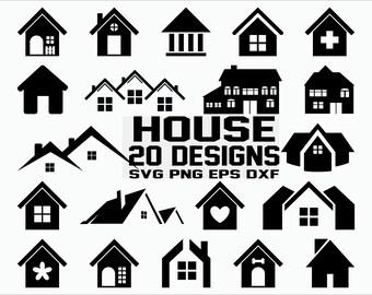 Svg House Etsy