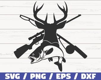 Download Hunting Fishing Svg Etsy