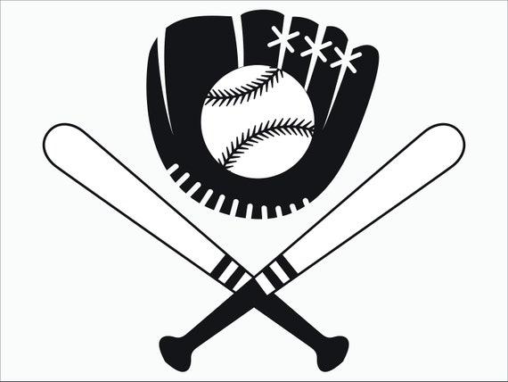 Baseball SVG / Png / EPS / DXF / Baseball Glove Svg / | Etsy