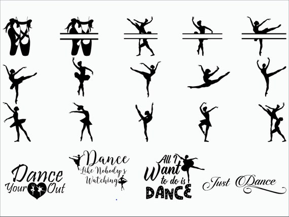 Ballet Svg Ballerina Svg Ballet Dancer Ballet Etsy