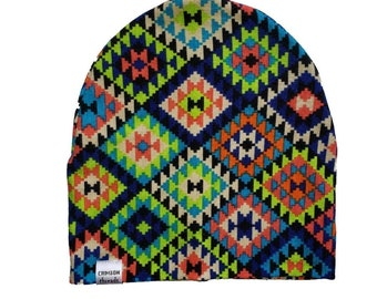 37fcf2ba3cc Made to order  Aztec beanie