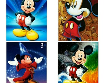 e560182a30 5D Diamond Painting Mickey Mouse Disney Diamond Painting Kit Round Square  Diamond Dotz Kid Room Decor Gift For Children Christmas Gift