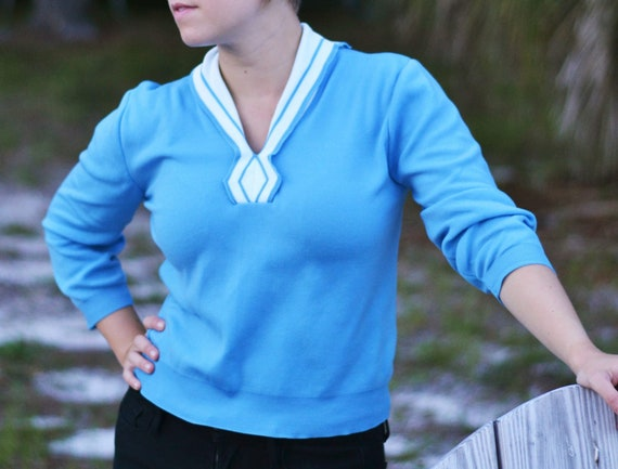 Vintage Sweetest Sailor Sweater