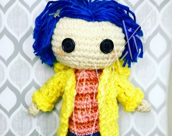 "The ""Other"" Coraline Doll (Crochet PATTERN PDF ONLY)"