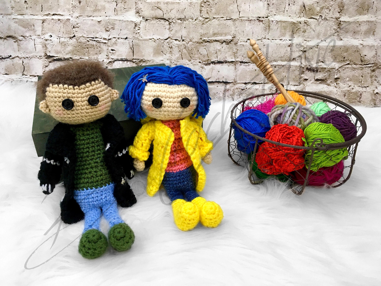 Amigurumi To Go   Coraline doll, Crochet dolls free patterns ...   2250x3000