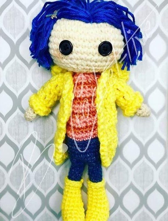 The Other Coraline Doll Crochet Pattern Pdf Only Etsy