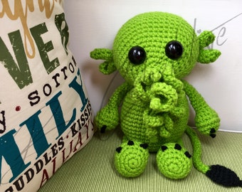 Cthuie the Sea Creature (Crochet PATTERN PDF ONLY)
