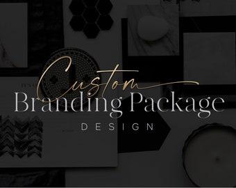 Custom Branding Package - Logo Design - Branding Kit - Custom Logo - Website Branding Design - Brand Identity - Marketing Kit - Brand Board