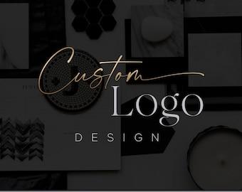 Custom Logo Design - Personalized Logo OOAK - Unique Design - Branding Kit - Custom Graphic Design - Small Business Logo - Logo Maker