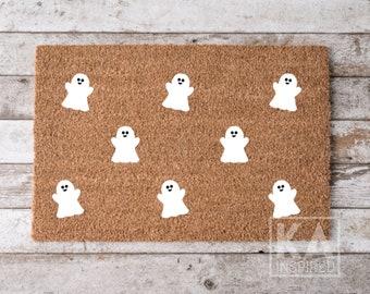 Ghost Halloween doormat, halloween decor, ghost decor, Fall doormat, funny doormat, halloween welcome mat, Halloween Decor, Ghosted, Spooky