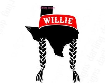 Willie Nelson Svg Etsy