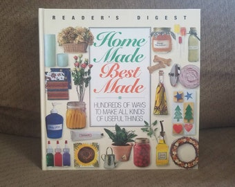Vintage Reader's Digest how-to Book, Homemade Best Made