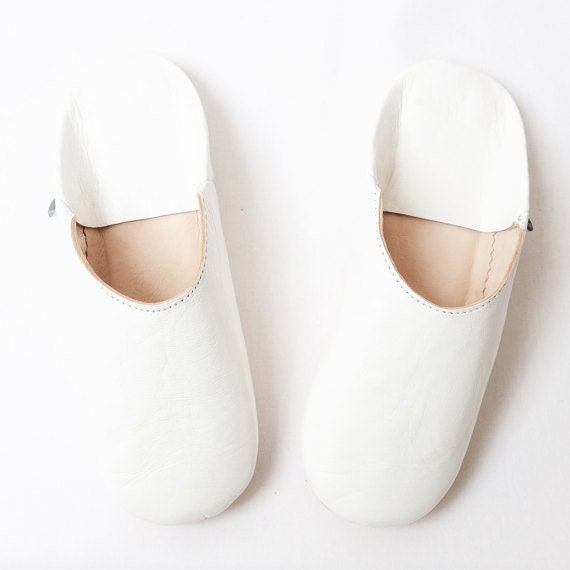 Handcrafted Babouche Slippers Loafers Slippers Leather Women Sheepskin Moroccan Leather Babouche Slippers Handmade Mules qntRROg8