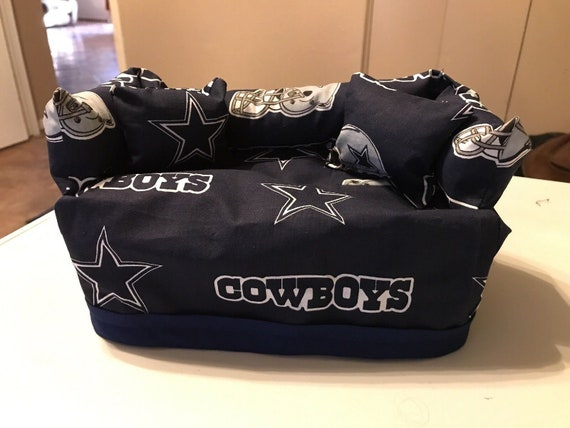 Nfl Dallas Cowboys Sofa Tissue Box Cover With Pillows Etsy