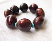 Tagua Nut and Turquoise B...