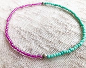 Colorful Ankle Bracelet, ...