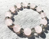 Rose Quartz Bracelet, Str...