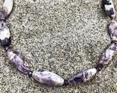 Amethyst Necklace, Unique...